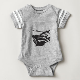 Classic Stag detail Baby Bodysuit
