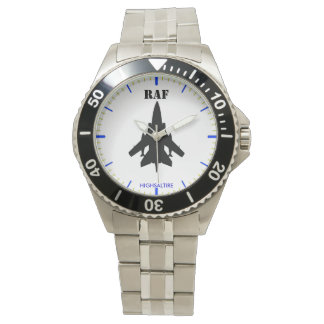 Classic Stainless Steel Watch raf