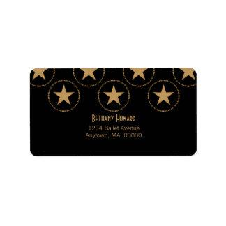 Classic Stars Address Labels