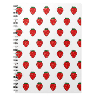 Classic Strawberry Notebook