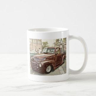Classic Street Rod Red Truck Coffee Mug