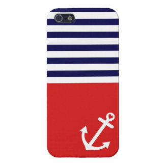 Classic Stripes Nautical Love Case For iPhone 5/5S
