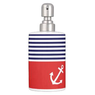 Classic Stripes Nautical Love Toothbrush Holder
