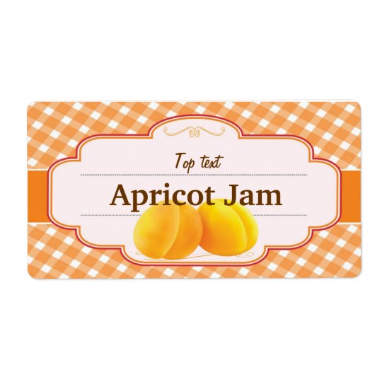 Classic Style Jam Jelly Traditional Apricot Jam