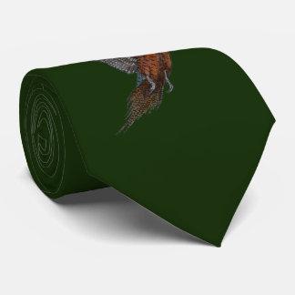 Classic Style `Pheasant in Flight' Neck Tie