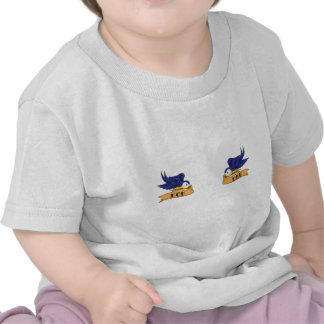 Classic Swallows With Mom and Dad Banners T Shirts