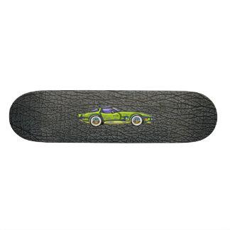 Classic T Top Corvette & Shark Skin Art 18.1 Cm Old School Skateboard Deck