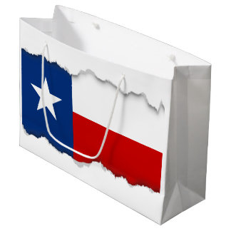 Classic Texas State Flag Large Gift Bag