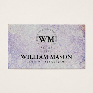 Classic | Texture | Stone Business Card