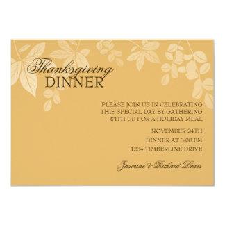 Classic Thanksgiving Dinner Invitation