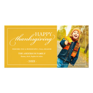 CLASSIC THANKSGIVING | FALL PHOTO CARD