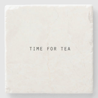 Classic Time for Tea Stone Coaster