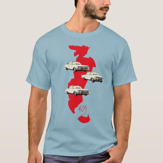 Classic to car 409 beach boys vintage T-Shirt