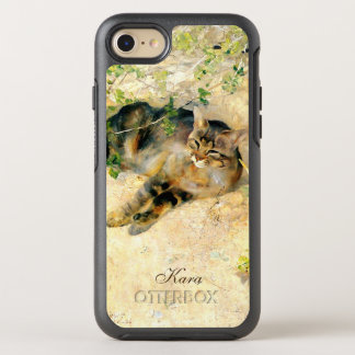 Classic Tortoiseshell Calico Cat Painting OtterBox Symmetry iPhone 8/7 Case