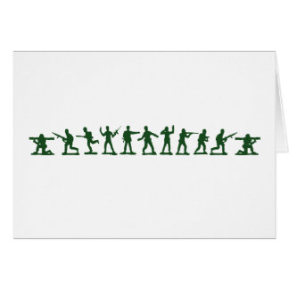 Classic Toy Soldiers Greeting Card