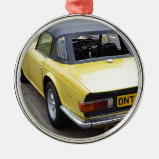 Classic TR6 Triumph Sportscar Christmas Ornament