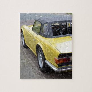 Classic TR6 Triumph Sportscar Jigsaw Puzzle