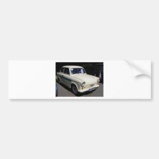 Classic Trabant Bumper Sticker