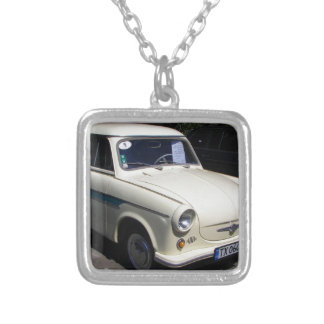 Classic Trabant Silver Plated Necklace