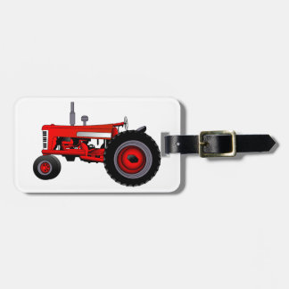 Classic Tractor Luggage Tag