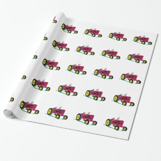 Classic Tractor Wrapping Paper