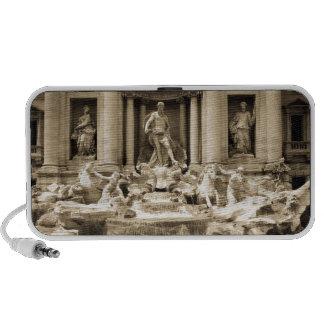Classic Trevi Fountain, Rome iPod Speakers