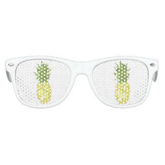 Classic Tropical Geometric Triangles Pineapple Kids Sunglasses