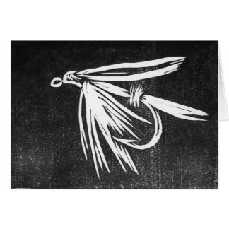 Classic Trout Fly  Card wetfly