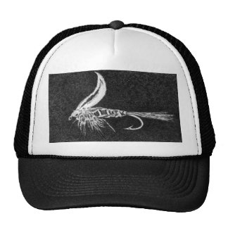 """Classic Trout Fly Hat """"Gold Ribbed Hare's Ear"""""""