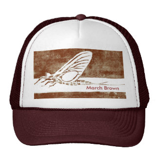"Classic Trout Fly Hat ""March Brown"""