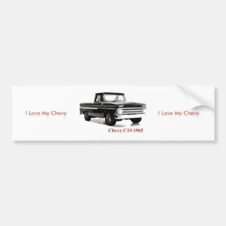 Classic Truck image for Bumper Sticker