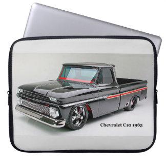 Classic Truck image Neoprene-Laptop-Sleeve Laptop Computer Sleeve