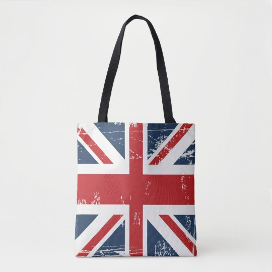 Classic UK Flag Union Jack Old Look Tote