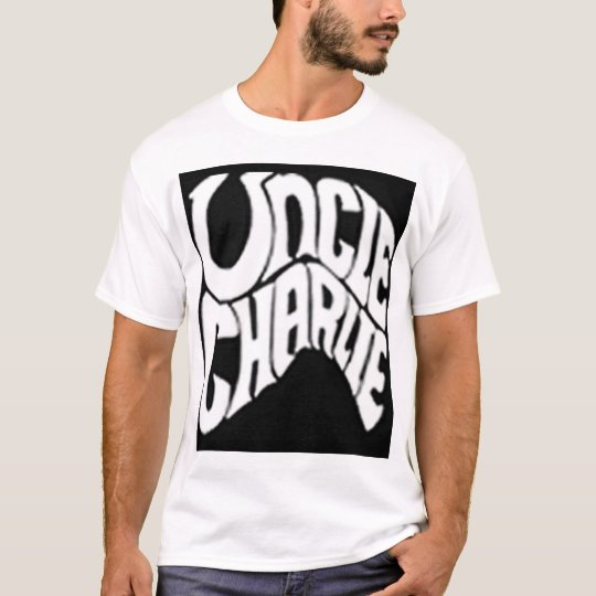 Classic Uncle Charlie Customisable T-Shirt For Men