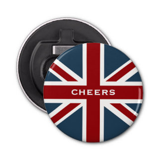 Classic Union Jack Flag Bottle Opener