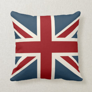 Classic Union Jack Flag Cushion