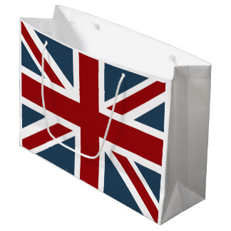 Classic Union Jack Flag Customized Large Gift Bag