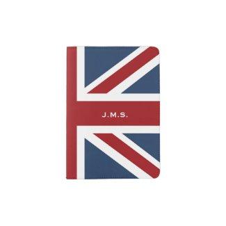 Classic Union Jack Flag Monogrammed