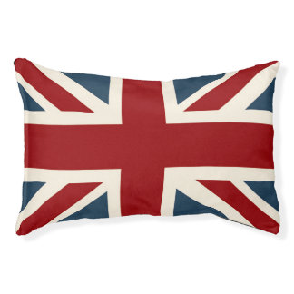 Classic Union Jack Flag Pet Bed