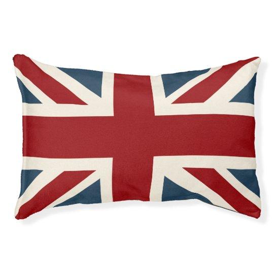 Classic Union Jack Flag Pet Bed