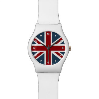 Classic Union Jack Flag Wrist Watch