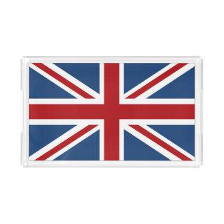 Classic Union Jack UK Flag Acrylic Tray