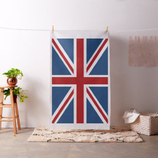 Classic Union Jack UK Flag Fabric