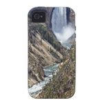 Classic view of the lower falls vibe iPhone 4 cover