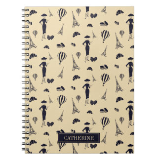 Classic Vintage 50's Fashion Notebook