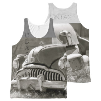 Classic Vintage All-Over Print Tank Top