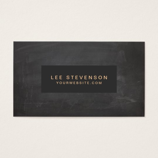 Classic Vintage Black Rustic Business Card