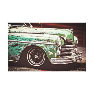 Classic Vintage Car Canvas Print