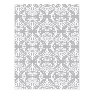 classic vintage french style wallpaper print postcard