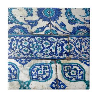 Classic Vintage iznik blue and white tile patterns